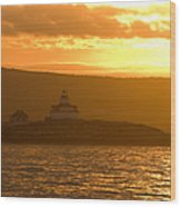 Acadia Lighthouse  Wood Print