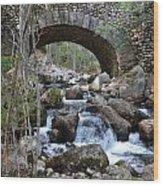 Acadia National Park Bridge Wood Print