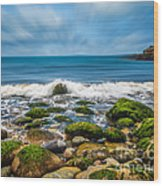 Acadia Ocean Breeze Wood Print