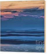 Acadia Sunrise Wood Print
