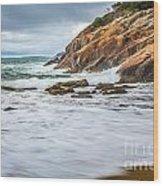 Acadia Surge Wood Print
