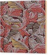 Acanthus Leaf Wood Print