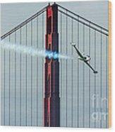 Ace Maker And The Golden Gate Wood Print