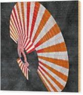 Aciluce Spacebloom Wood Print