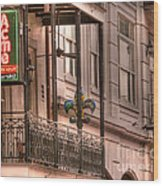 Acme Oyster House Wood Print