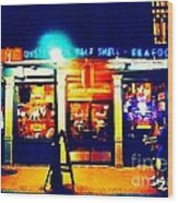 Acme Oyster Shop New Orleans Wood Print