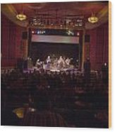 Acoustic Alchemy On Stage Wood Print