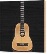 Acoustic Play Wood Print