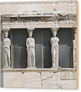 Acropolis Revisited  2 Wood Print