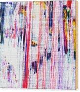 Acryl  Happy Sally Behind The Shower Curtain... Boo Wood Print