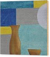 Acrylic 3d Msc 004 Wood Print
