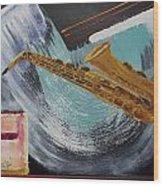 Acrylic Msc 036  Wood Print