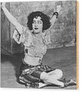 Actress Alla Nazimova Wood Print
