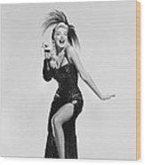 Actress Barbara Nichols Wood Print