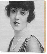 Actress Mabel Normand Wood Print