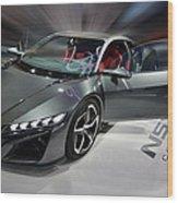 Acura N S X Sh Concept 2013 Wood Print