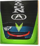 Acura Patron Car Hood Wood Print
