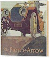 Ad Pierce-arrow, 1925 Wood Print