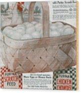 Ad Purina, 1919 Wood Print