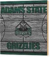 Adams State Grizzlies Wood Print