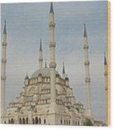 Adana Mosque Wood Print