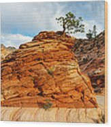 Adaptable Pinyon Pine Wood Print