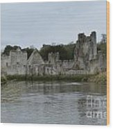 Adare Ireland Views Of Desmond Castle Wood Print