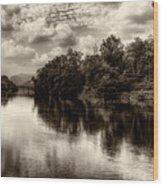 Adda River 2 Wood Print