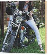 Adel Easy Rider Wood Print