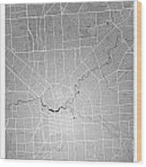 Adelaide Street Map - Adelaide Australia Road Map Art On Colored Wood Print