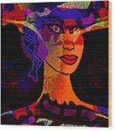 Adelita Wood Print