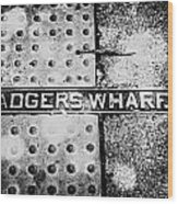 Adgers Wharf Wood Print