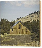 Adin Barn Wood Print