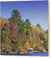 Adirondack Color Ix Wood Print