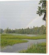 Adirondack Rainbow Treat Wood Print
