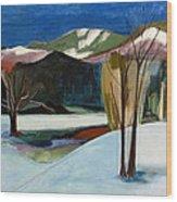 Adirondacks Wood Print