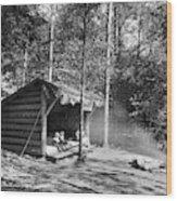 Adirondacks Cabin, C1909 Wood Print