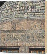 Adler Planetarium Signage Wood Print