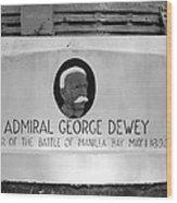 Admiral Dewey Monument Wood Print