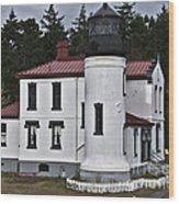 Admiralty Head Lighthouse 2 Wood Print