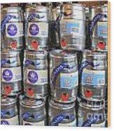 Adnams Jubilee Beer Keg Wood Print