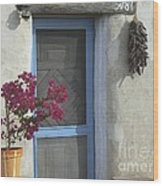 Adobe Home In Ft. Lowell Wood Print