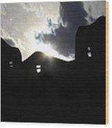 Adobe In The Sun Wood Print
