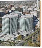 Adobe Systems Building San Jose California Wood Print