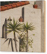 Adobe Wall Wood Print