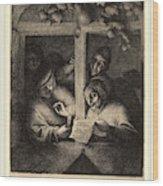 Adriaen Van Ostade Dutch, 1610-1685, The Singers Wood Print