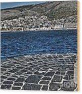 Adriatic Sea Wood Print