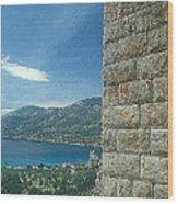 Aegosthena Fortress Wood Print
