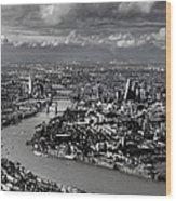 Aerial View Of London 4 Wood Print
