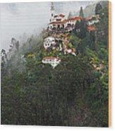 Aerial View Of Monserrate Church Wood Print